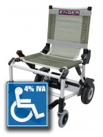 SILLA ELECTRICA ZINGER GRIS (iva 4%)