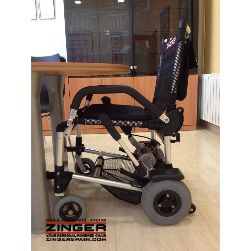 precio silla de ruedas electrica zinger